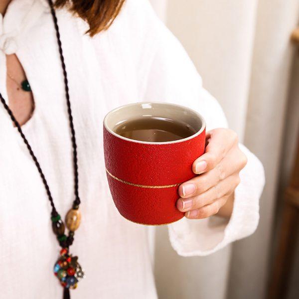 zen tea mug